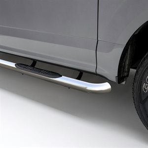 """ARIES 3"""" GM 1500 CREW CAB (07-18) & HD (07-19) STAINLESS"""