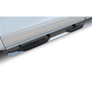 """4"""" OVAL RAM CREW CAB 1500 (09-18) 2500 / 3500 (10-21) STAINLESS"""