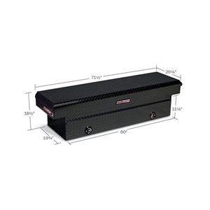 ALUMINUM CROSS BOX BLACK