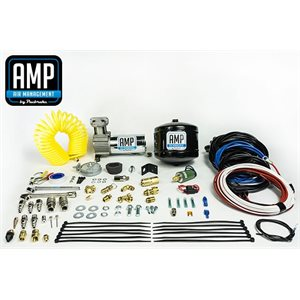 AMP AIR ON BOARD AIR COMPRESSOR WITH .5 GALLON TANK